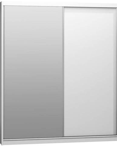 Skriňa Maciej 208 zrkadlo biela