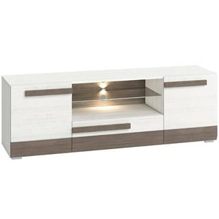 TV stolík Blanco 09 165 borovica snežná/new grey