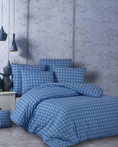 BedTex Bavlnené obliečky Snorri modrá