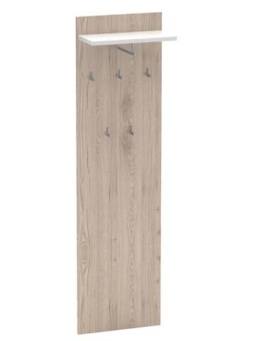 Vešiakový panel san remo/biela RIOMA TYP 19