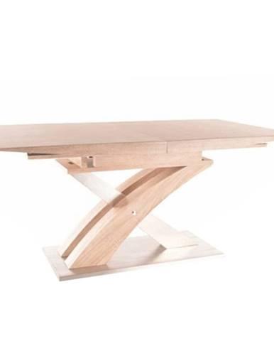 Jedálenský stôl dub sonoma BONET rozbalený tovar