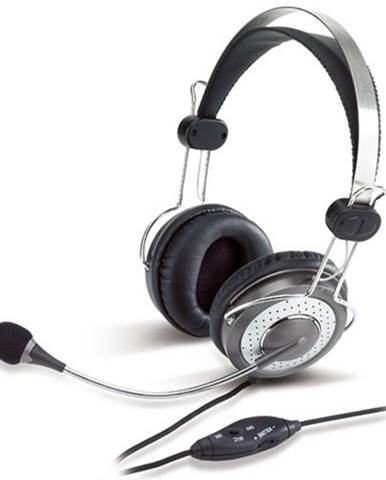 Slúchadlá s mikrofónom Genius HS-04SU