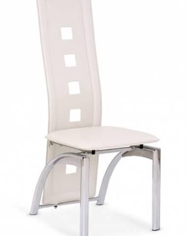 Jedálenská stolička K4 krémová - II. akosť