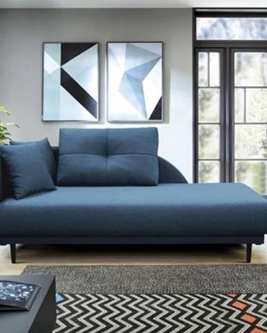 Leňoška Ize s úložným priestorom, ľavá strana, modrá