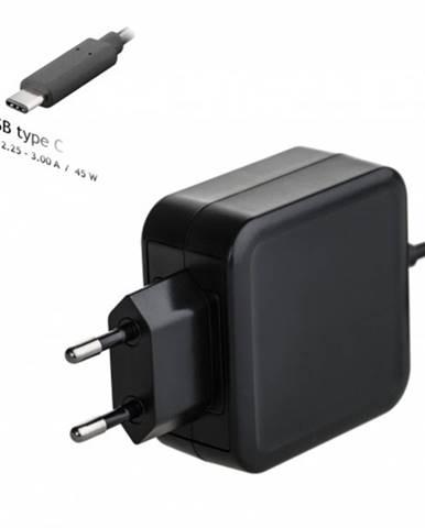 Univerzálny USB-C napájací adaptér 45W Akyga AK-ND-60