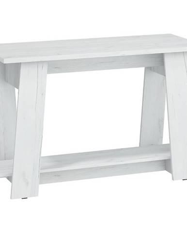 Písací stôl Via Craft Biely