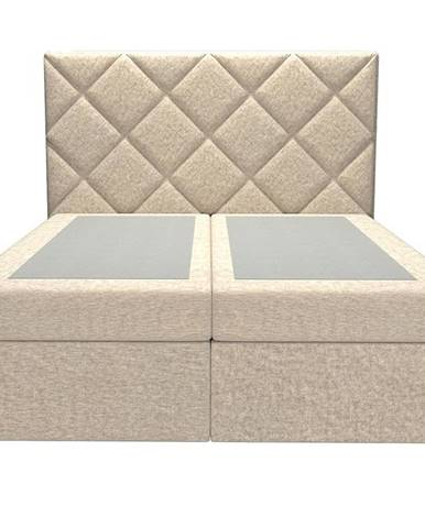Posteľ Reja 160x200 Monolith 04 bez vrchného matracu