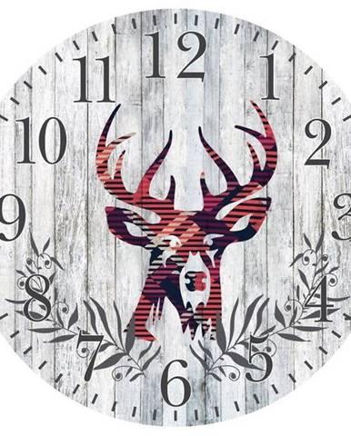 Hodiny Wall Deer 29