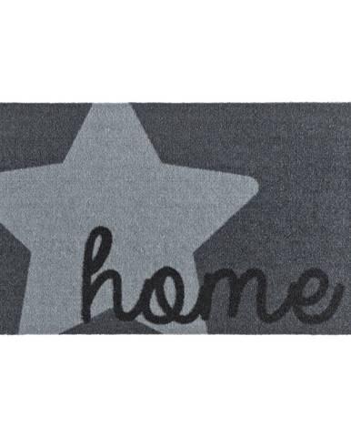 Sivá rohožka Zala Living Design Star Home Grey, 50×70cm