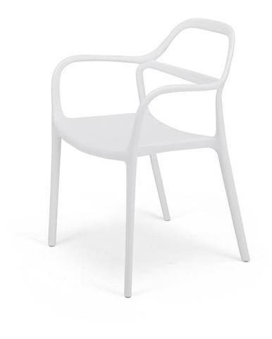 Súprava 2 bielych jedálenských stoličiek Le Bonom Dali Chaur
