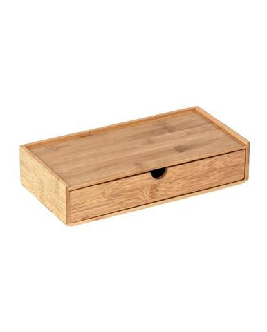 Bambusový úložný box s priehradkou Wenko Terra