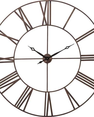 Nástenné hodiny Kare Design Factory, výška 120 cm