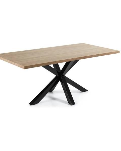 La Forma Jedálenský stôl v dekore dubového dreva La Forma, 200 x 100 cm