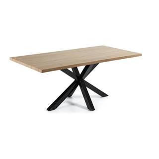 Jedálenský stôl v dekore dubového dreva La Forma, 200 x 100 cm