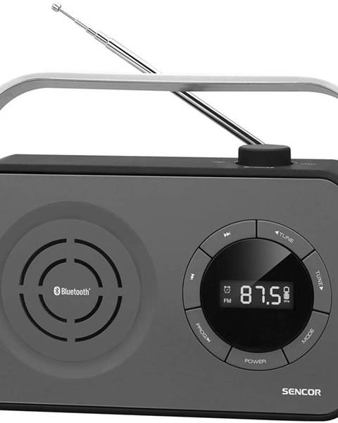 Sencor Rádioprijímač Sencor SRD 3200B čierny
