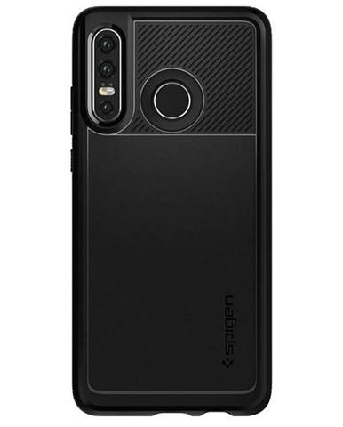Kryt na mobil Spigen Rugged Armor na Huawei P30 Lite čierny