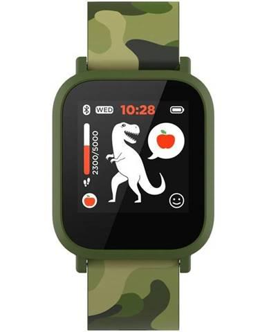 Inteligentné hodinky Canyon My Dino KW-33 - dětské zelený