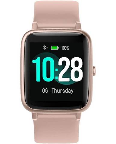 Inteligentné hodinky UleFone Watch ružové
