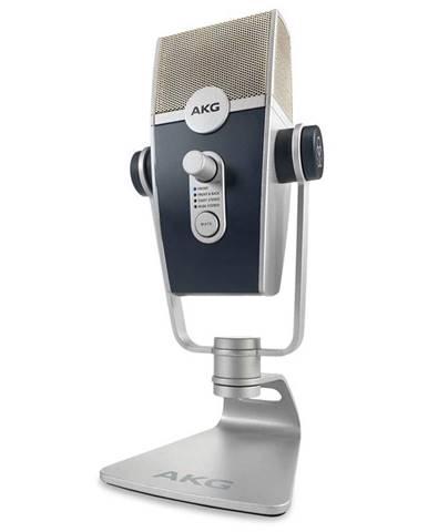 Mikrofón AKG C44-USB Lyra strieborný