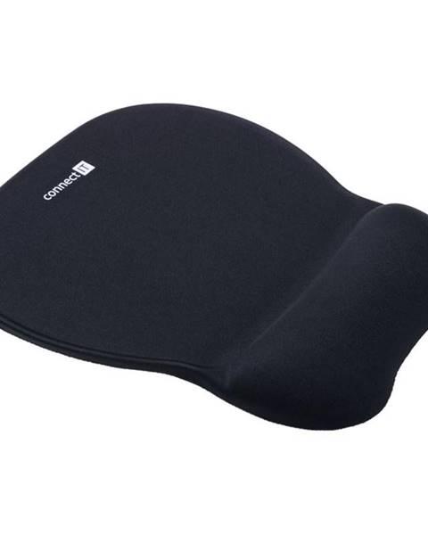 Connect IT Podložka pod myš  Connect IT se zápěstní opěrkou čierna