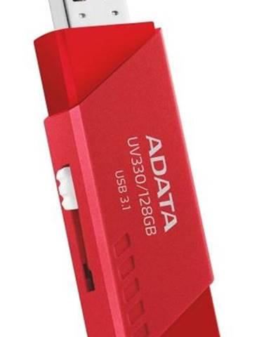 USB flash disk Adata UV330, 64 GB, červený