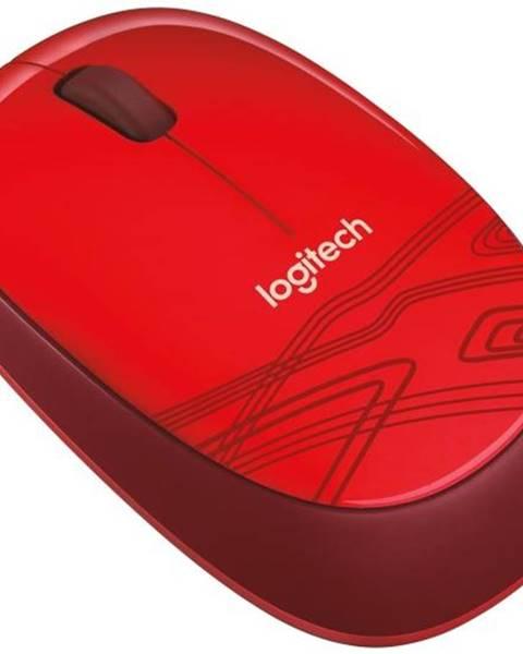 Logitech Myš  Logitech M105 červená / optická / 3 tlačítka / 1000dpi