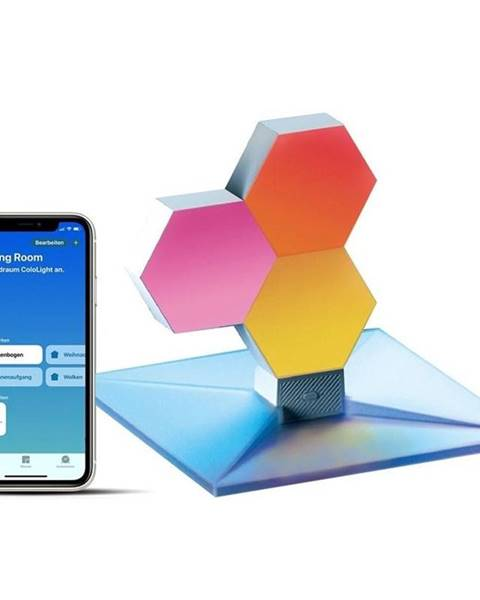 Cololight Stolná lampa Cololight Plus, modulární, Wi-Fi, se 3 bloky - HomeKit