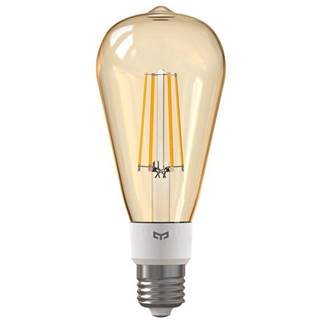Inteligentná žiarovka Yeelight Smart Filament ST64, E27, 6W, teplá