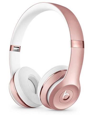 Slúchadlá Beats Solo3 Wireless ružová