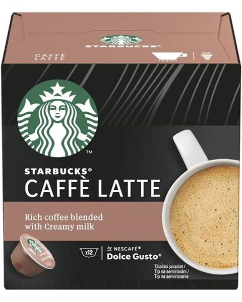 Starbucks Kapsule pre espressa Starbucks Caffe Latte 12Caps