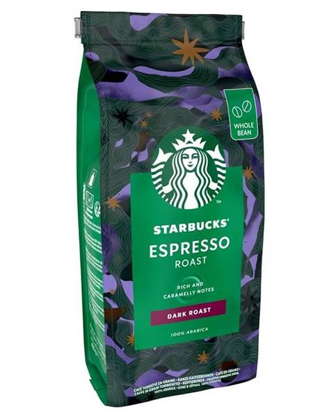 Starbucks Káva zrnková Starbucks Espresso Roast 450 g