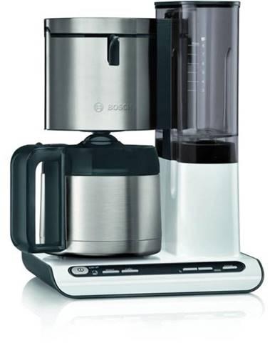 Kávovar Bosch Tka8a681 biely/nerez