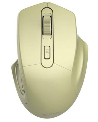 Myš  Canyon Pixart MW-15 zlatá