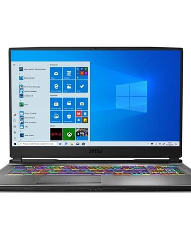 Notebook MSI Alpha 17 A4dek-020CZ čierny