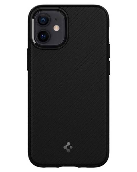 Spigen Kryt na mobil Spigen MagArmor na Apple iPhone 12 mini čierny