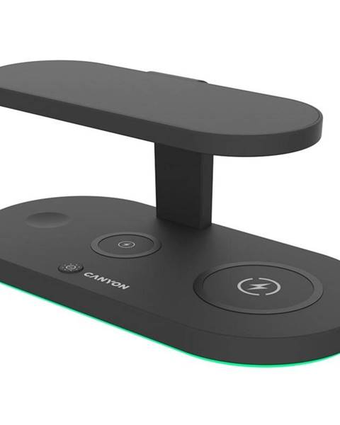 Canyon Bezdrôtová nabíjačka Canyon 5v1 pro telefon, Apple Watch, Airpods,