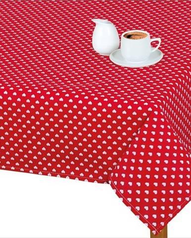 Bellatex Obrus Adela Srdiečka červená, 70 x 70 cm