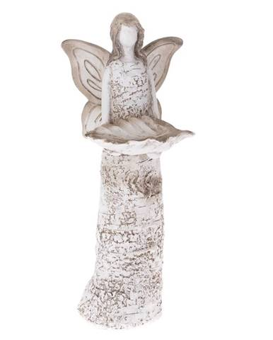 Keramické pítko Anjel, 14,2 x 37,2 x 11,6 cm