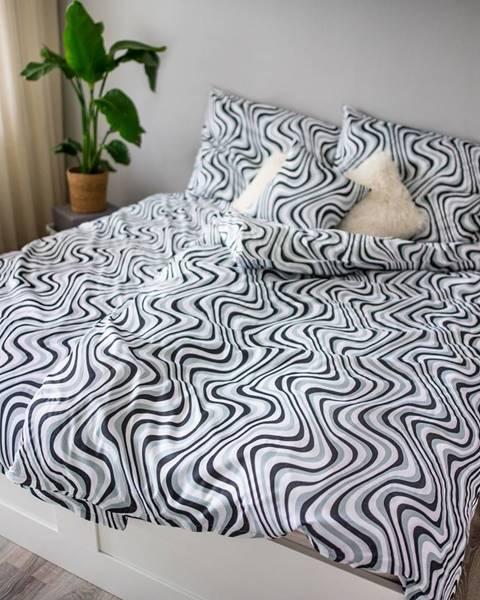 Tescoma Jahu Saténové obliečky Ema Waves, 140 x 200 cm, 70 x 90 cm