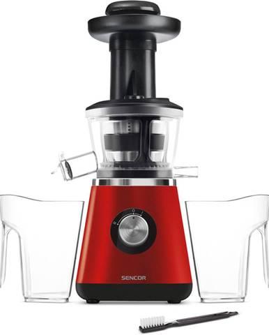 Sencor SSJ 4042RD Šnekový odšťavovač, červená,