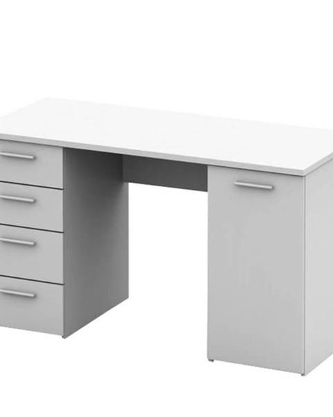 Kondela Písací stôl biela EUSTACH