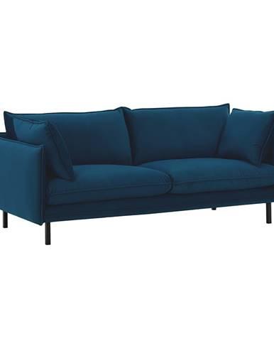 Luxusný 2-sed parížska modrá VINSON 2
