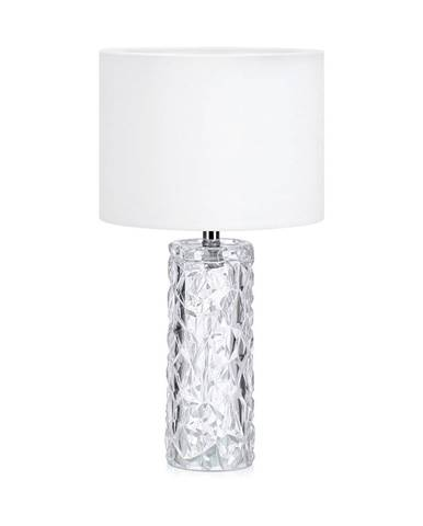 Biela stolová lampa Markslöjd Madame
