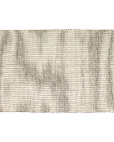 Hübsch Béžový koberec Hübsch Prissano, 120 × 180 cm