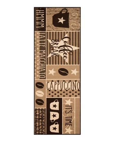 Hnedý behúň Zala Living Vibe, 67 × 180 cm