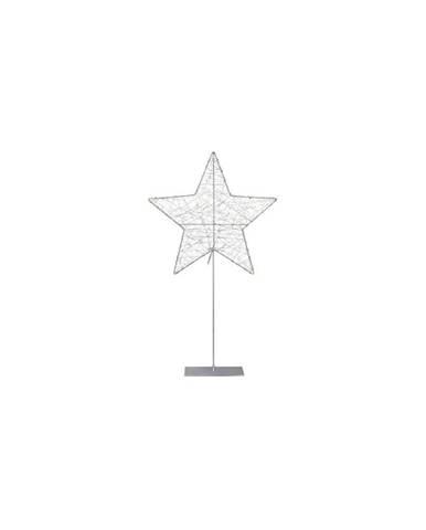 LED svietiaca dekorácia Markslöjd Ronny Silver, výška 60cm