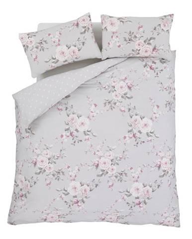 Obliečky Catherine Lansfield Canterbury Rose, 135×200cm