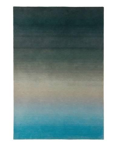 Modro-sivý koberec Asiatic Carpets Ombre, 120 x 170 cm