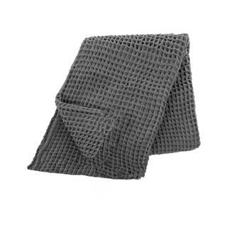 Sivý bavlnený ľahký pléd na posteľ Tiseco Home Studio, 250 x 260 cm