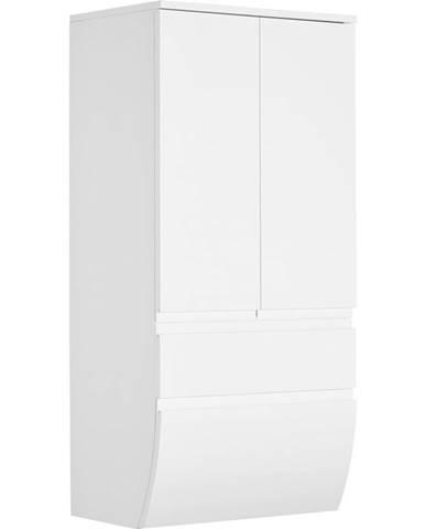 Dieter Knoll MIDI SKRINKA, biela, 60/126,8/38 cm - biela